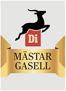 Logotyp Mästargasell