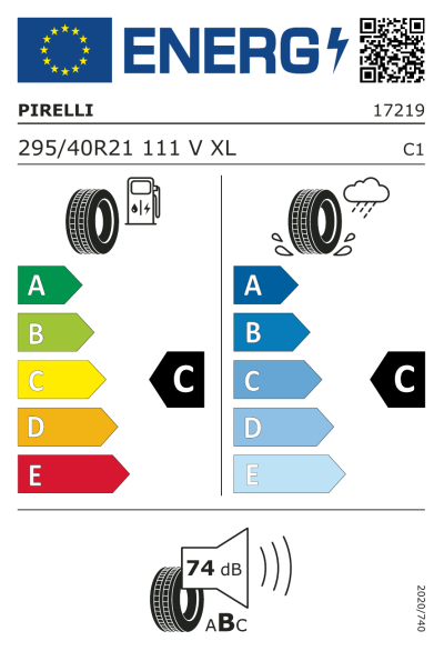 Eu-Märkning Pirelli Scorpion Zero 295/40R21 111V XL