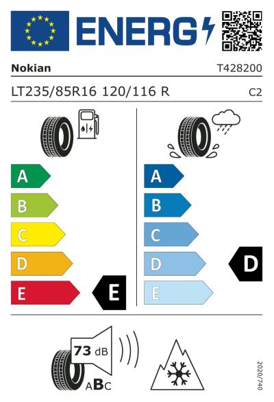EU-merking Nokian Rotiiva AT 235/85R16 120R